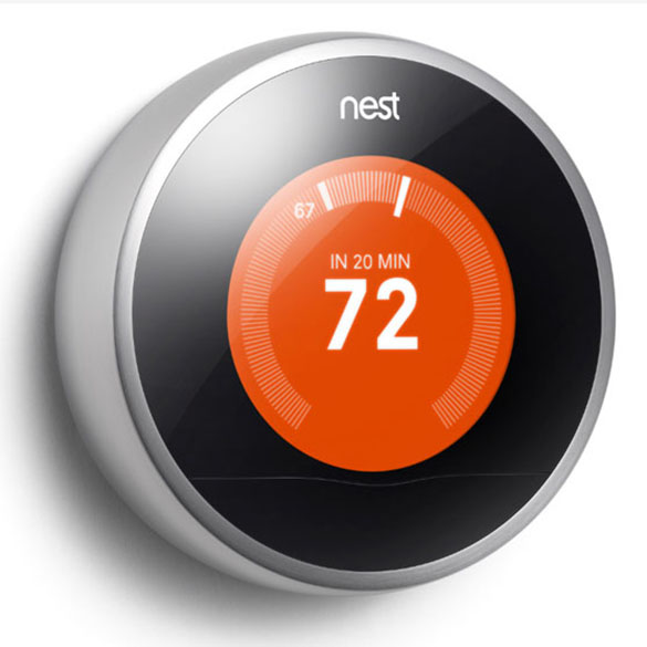 Nest Learning Thermostat 3rd Generation by Heat and Cool