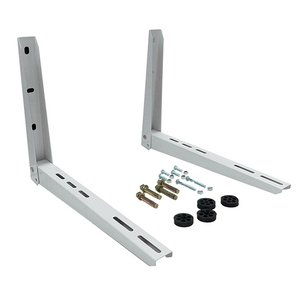 Wall Mount AC Maxwell Universal Wall Mount Bracket for Ductless Air Conditioner Outdoor Unit HCKPI1119