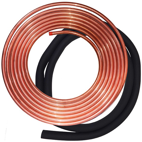 "Refrigerant line set 3/8""x1-1/8""-25ft with insulation"