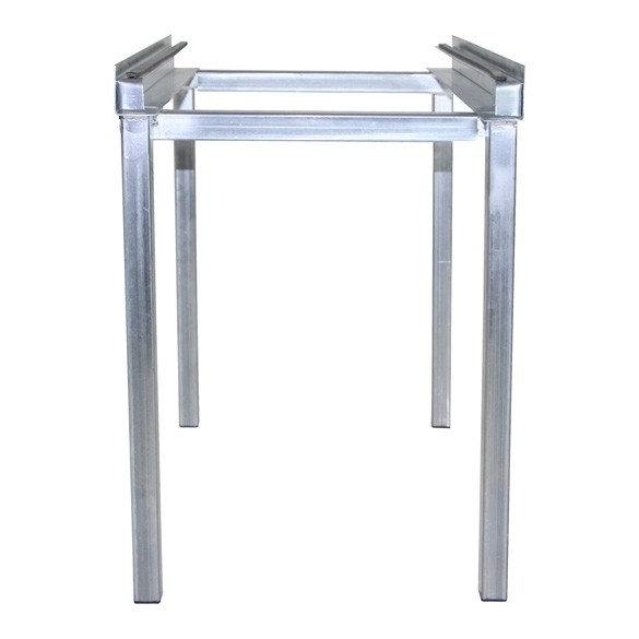 Adjustable Air Handler Aluminum Stand with Filter Rack