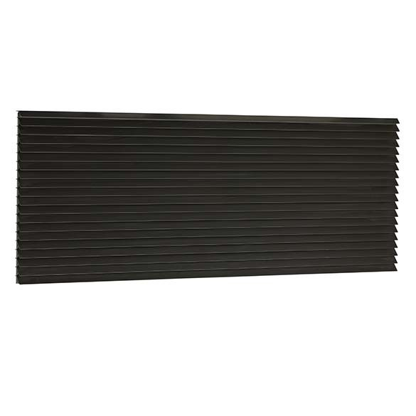 """Klimaire Extruded Architectural Grille Dark Bronze for PTAC Wall Sleeve 42"""" X 16"""""""