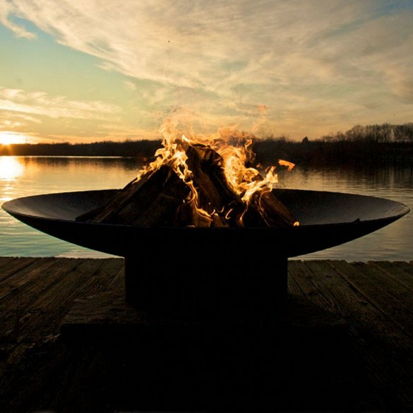 Asia 36 Inch Wood Burning Fire Pit