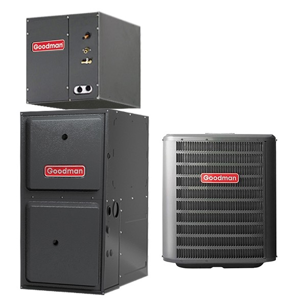 2 5 Ton Goodman 16 SEER Central Air Conditioner 60,000 BTU