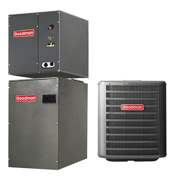 5 Ton Goodman 17 Seer 2 Stage Variable Speed Central Air