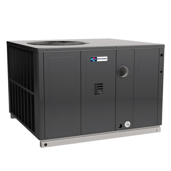 3 Ton Direct Comfort Packaged Dual Fuel Unit 14 SEER 80000 BTU 0.81 AFUE Horizontal/Downflow