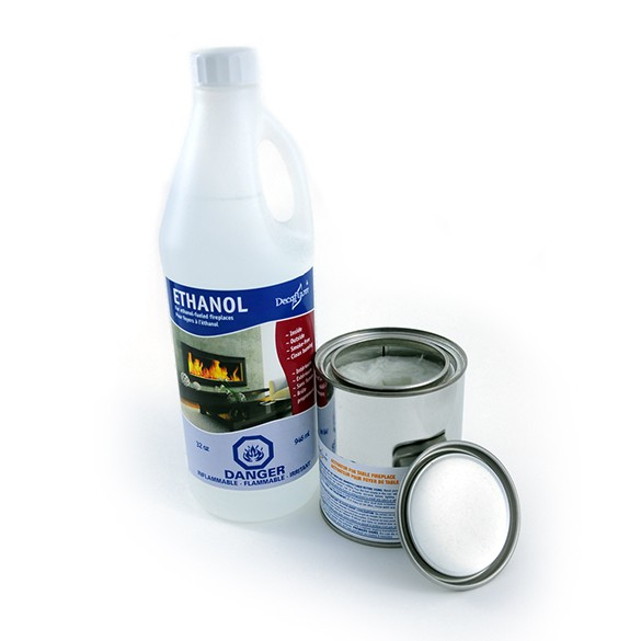 DecorPro Liquid Ethanol Starter Pack