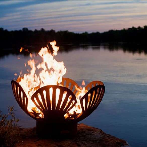 Barefoot Beach Wood Burning Fire Pit