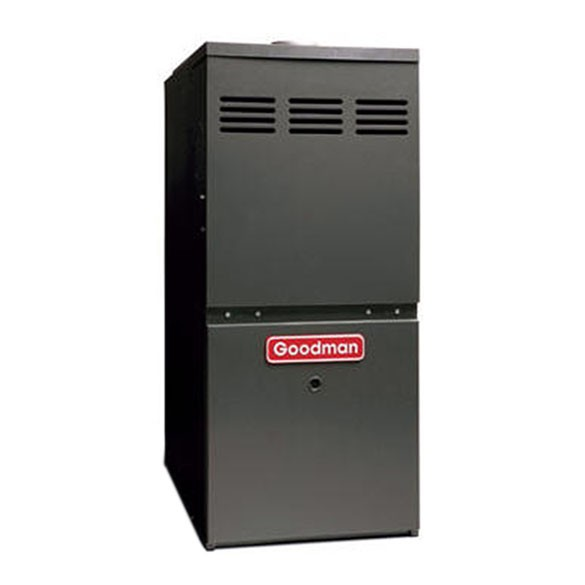 60,000 BTU Goodman GMS80603A 80%  Efficiency 1-Stage Upflow/Horizontal Gas Furnace Heater
