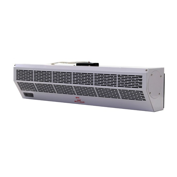 48 Inch Maxwell Air Curtain with Electric Heat and Remote Control