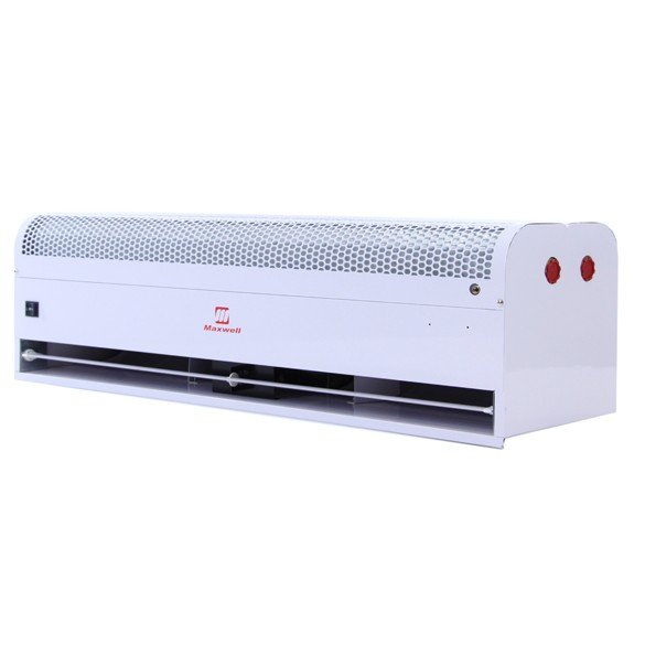 48 Inch Maxwell Air Curtain with Hot Water/Steam Heat and Door Switch