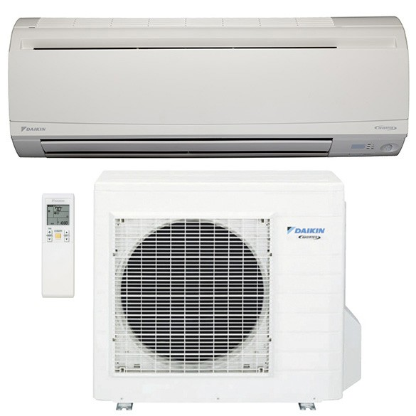 18,000 BTU Daikin 20 SEER Wall Mount Ductless Mini-Split Inverter Air Conditioner Heat Pump System (230 Volt)