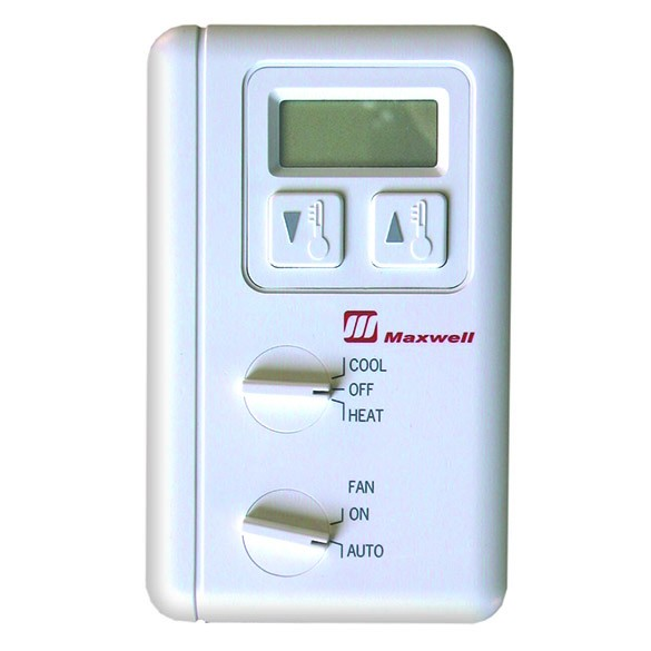 Maxwell 1-Stage Heat and Cool Digital LCD Thermostat