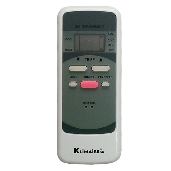 Wireless Remote Control for  Klimaire PTAC & PTHP KTHN series