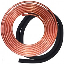 "Refrigerant line set 3/8""x1-1/8""-50ft with insulation"