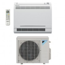 18,000 BTU Daikin 20 SEER Low-Wall Floor Mount Ductless Mini-Split Inverter Air Conditioner Heat Pump System (230 Volt)