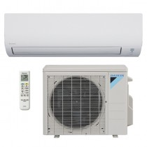 9,000 BTU Daikin 19 SEER Wall-Mounted Ductless Mini-Split Inverter Air Conditioner Heat Pump System (230 Volt)