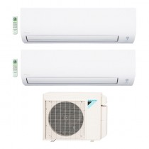 2-Zone Daikin 17 SEER Aurora Series LV Ductless Multi-Zone Inverter Air Conditioner Heat Pump (9K + 9K BTU)
