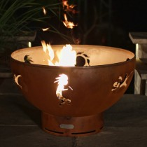 Kokopelli Outdoor Gas Fire Pit