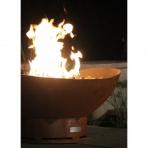 Scallop Outdoor Gas Fire Pit with Electronic Ignition
