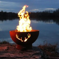 Antlers Wood Burning Fire Pit