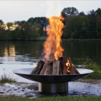 Bella Vita 46 Inch Wood Burning Fire Pit