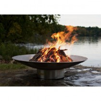 Bella Vita 58 Inch Wood Burning Fire Pit