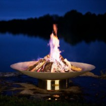 Bella Vita 70 Inch Wood Burning Fire Pit