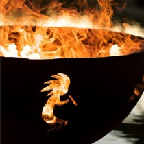 Kokopelli Wood Burning Fire Pit