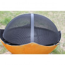 Fire Pit Art 34.5 Inch Spark Guard