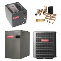 2 Ton Goodman 16 SEER 2 Stage Variable Speed Central Air Conditioner Upflow/Downflow System