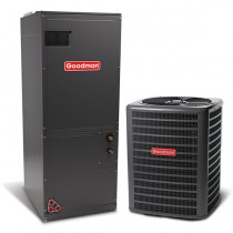 2.5 Ton Goodman 15 Seer Central Air Conditioner Heat Pump Multi-Position System