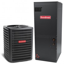 3.5 Ton Goodman 15 Seer Central Air Conditioner Heat Pump Multi-Position System