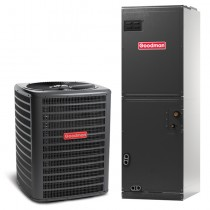 4 Ton Goodman 14 Seer Central Air Conditioner Heat Pump Multi-Position System