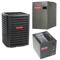 2.5 Ton Goodman 16 Seer Central Air Conditioner Heat Pump Multi Position System