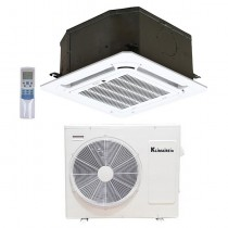 12,000 Btu Klimaire 21.5 SEER  Light Commercial Ceiling Cassette - Inverter Heat Pump System - 208-230V