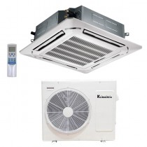 24,000 Btu Klimaire 20 SEER  Light Commercial Ceiling Cassette - Inverter Heat Pump System - 208-230V