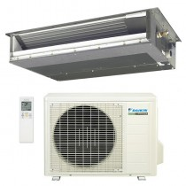 12,000 BTU Daikin 15 SEER Concealed Slim Duct Mini-Split Inverter Air Conditioner Heat Pump System (230 Volt)