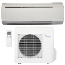 15,000 BTU Daikin 20 SEER Wall-Mounted Ductless Mini-Split Inverter Air Conditioner Heat Pump System (230 Volt)
