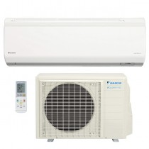 12,000 BTU Daikin 24 SEER Quaternity Wall-Mounted Ductless Mini-Split Inverter Air Conditioner Heat Pump System (230 Volt)