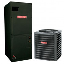 1.5 Ton Goodman 14.5 SEER Central Air Conditioner System