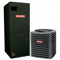 4 Ton Goodman 14.5 SEER Central Air Conditioner Heat Pump System