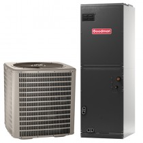 2.5 Ton Goodman Manufacturing Company 14 SEER Central Air Conditioner System