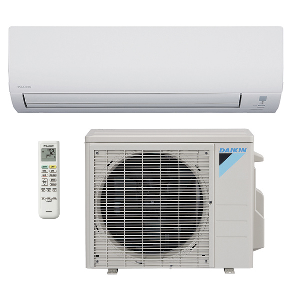 18,000 BTU Daikin 15 SEER Wall-Mounted Ductless Mini-Split Inverter Air Conditioner Heat Pump System (230 Volt) HCDNA1009