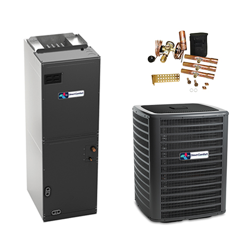 4 Ton Direct Comfort 14 Seer Central Air Conditioner Heat Pump Multi-Position System HCDCG1376