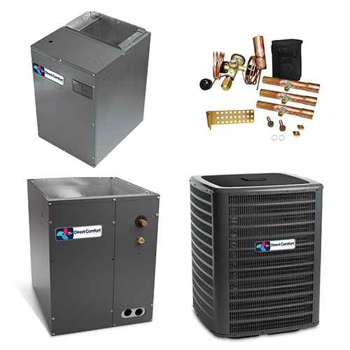 3 Ton Direct Comfort 18 SEER 2 Stage Variable Speed Central Air Conditioner Heat Pump Upflow/Downflow System HCDCG1358