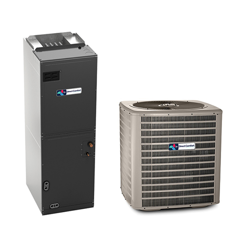 1.5 Ton A/C Direct Comfort Manufacturing Company 14 SEER Central Air Conditioner System HCDCG1384