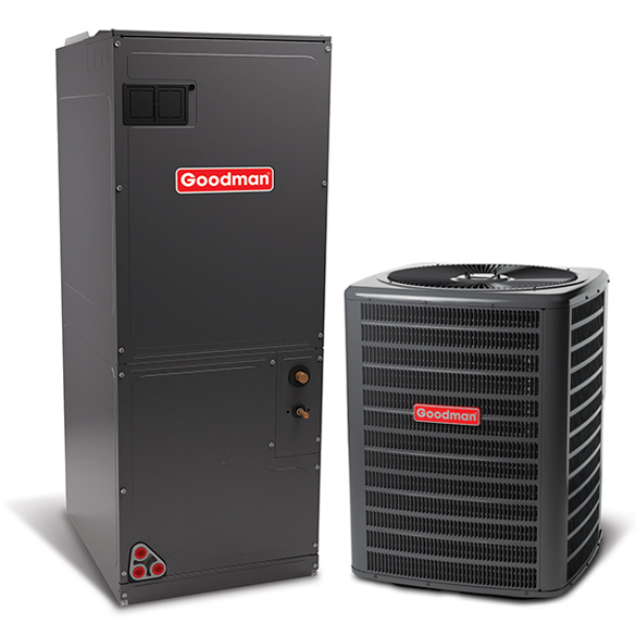 3 Ton Goodman 15 SEER Central Air Conditioner System HCGMC2478