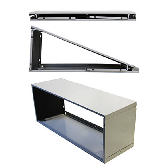 """Universal Foldable Wall Sleeve for Standard PTAC 42"""" X 16"""" by Heat and Cool"""